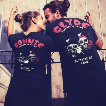 Bonnie & Clyde Partner Shirt