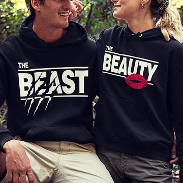 Beauty & Beast Hoodie