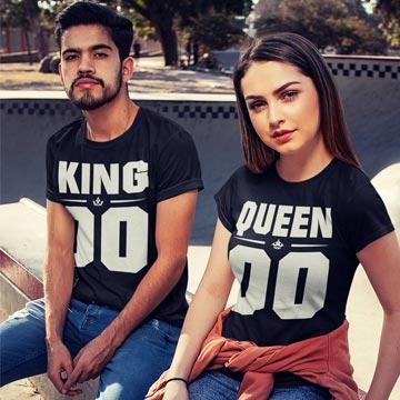 King und Queen Shirt