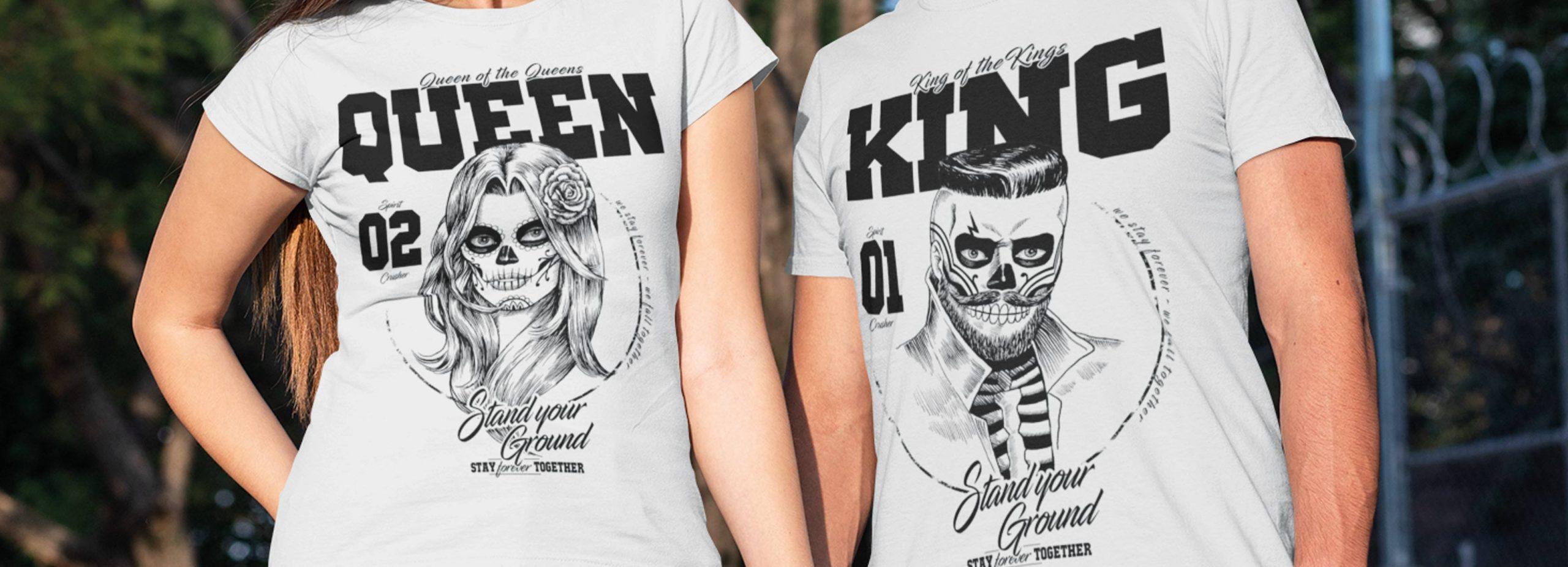 King & Queen Partner Shirt
