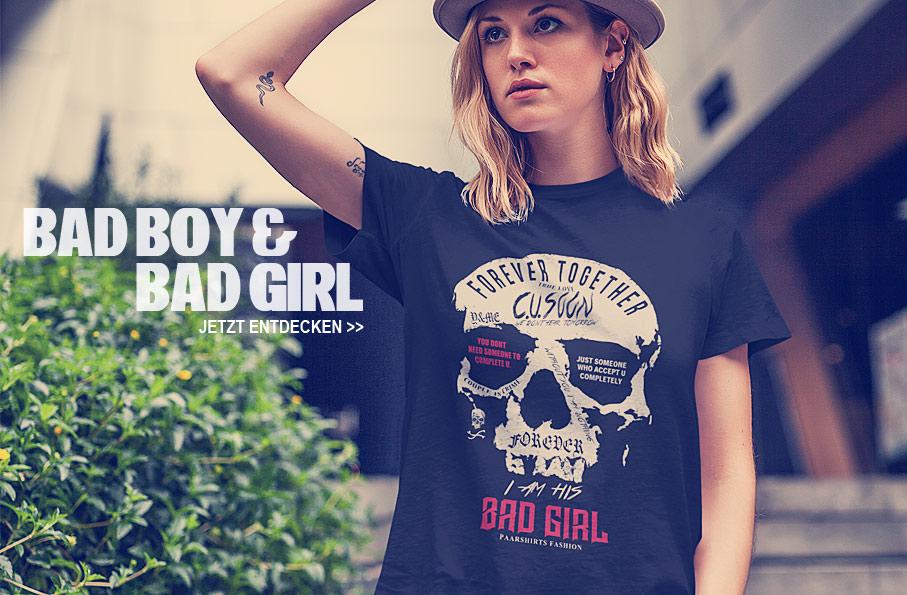 Bad Boy & Bad Girl Shirts